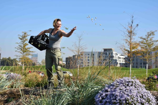 Lydia Frotscher: Techniker Absolventin 2018 startet durch an der BuGa 2019 in Heilbronn