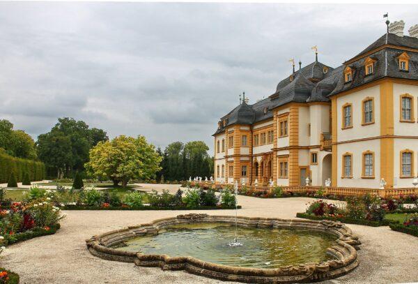 Der Ort Veitshöchheim