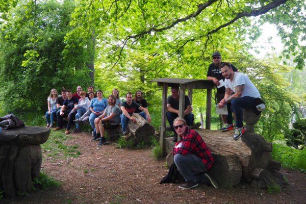 Meisterklasse auf Exkursion (Teil 1)