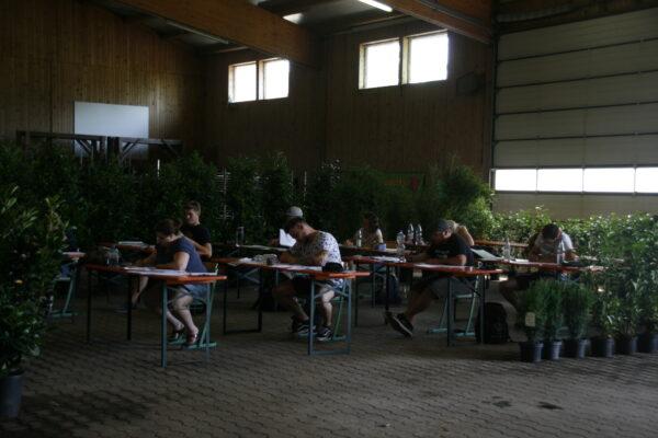 Meisterprüfung in Veitshöchheim